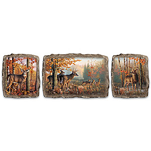 """Greg Alexander """"Woodland's Majesty"""" Wall Decor Collection"""