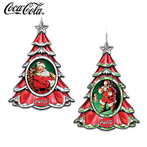 COCA-COLA Holiday Traditions Illuminated Ornament Collection
