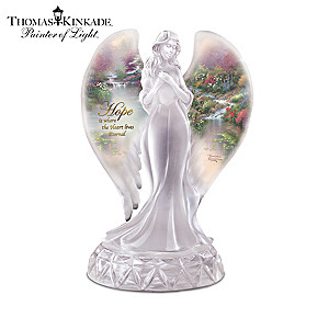 Thomas Kinkade Heavenly Blessings Angel Figurine Collection