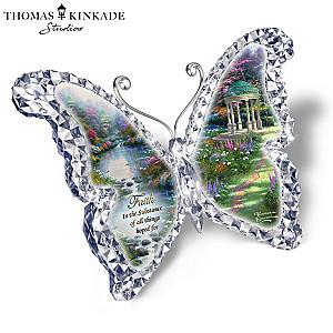 "Thomas Kinkade ""Gardens of Paradise"" Butterfly Sculptures"