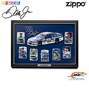 Dale Earnhardt Jr. Zippo® Lighters With Custom Display