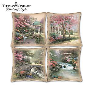Thomas Kinkade Best-Selling Seasonal Art Pillow Collection