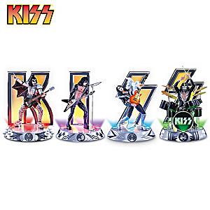 "KISS ""Destroyer"" Illuminated Figurine Collection"