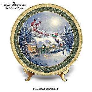 Thomas Kinkade Annual Christmas Collector Plate Collection