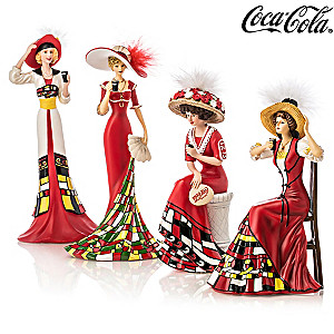 COCA-COLA® Women Figurine Collection