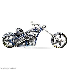 Dallas Cowboys Choppers With Team Logos And Graphics