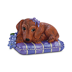 Alzheimer's Awareness Dachshund Figurine Collection