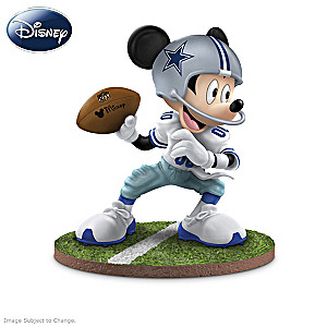 Dallas Cowboys Disney Character Figurine Collection