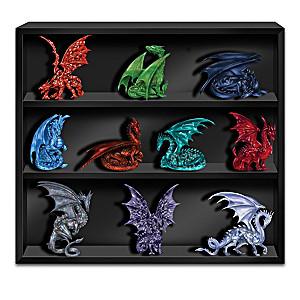 Blake Jensen Crystalline Gem Dragon Figurine Collection