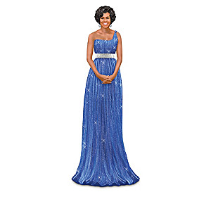 A Fashionable Tribute To Michelle Obama Figurine Collection