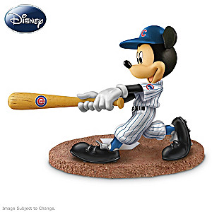 Cubs All-Star Line-Up With Disney Characters Figurines