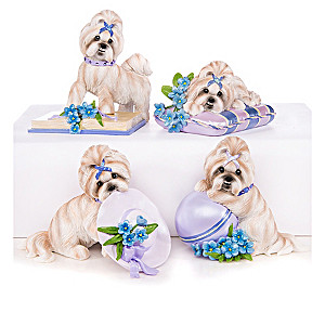 Shih Tzu Figurine Collection Supports Alzheimer's Research