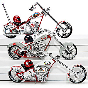 St. Louis Cardinals World Series Champions Chopper Figurines