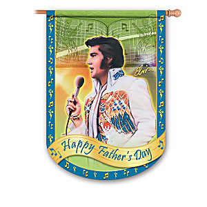 "Elvis Presley ""Rockin' Through The Year"" Flags"