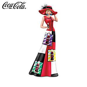 "Coca-Cola Woman Figurines In 1960s Iconic ""Pop Art"" Fashions"