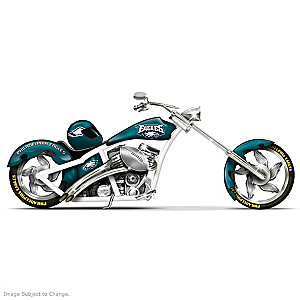 Philadelphia Eagles Choppers With Team Logos And Graphics
