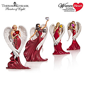 Thomas Kinkade Angel Figurines Support Women's Heart Health