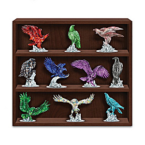 Blake Jensen Rare Gem-Inspired Eagle Figurine Collection