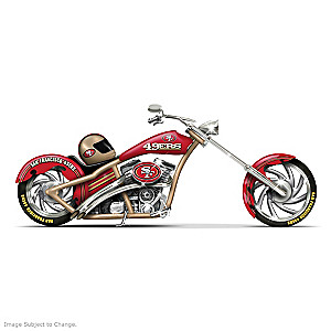 San Francisco 49ers Choppers With Team Logos And Graphics