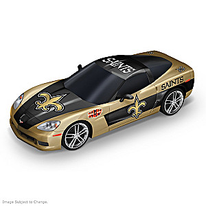 New Orleans Saints 1:43-Scale Car Sculpture Collection