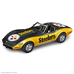 Pittsburgh Steelers Super Bowl Muscle Car Sculptures