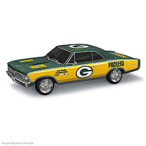 Green Bay Packers Super Bowl Commemorative Car Sculptures