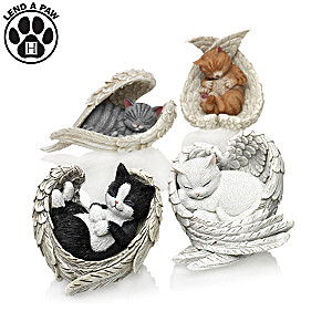 "Blake Jensen ""Paw Prints From Heaven"" Figurine Collection"