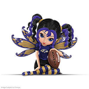 Ravens Figurine Collection By Jasmine Becket-Griffith