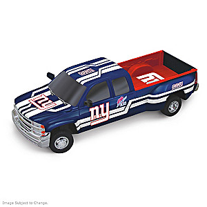 Giants History-Making Chevy Pick-Up Sculptures