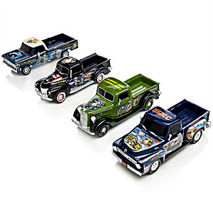 1:36-Scale USMC Ford Truck Sculptures With James Griffin Art