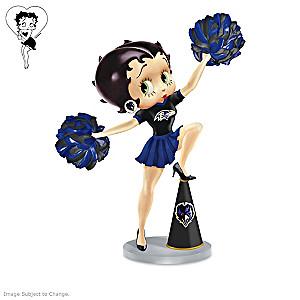 Betty Boop Baltimore Ravens Handbell Collection