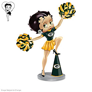 Betty Boop Green Bay Packers Handbell Collection