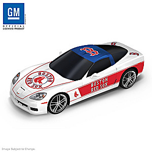 """Heartbeat Of The Boston Red Sox"" Muscle Car Sculptures"