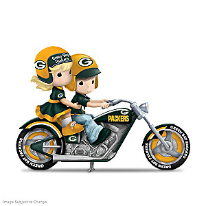Precious Moments Highway To The Top Packers Figurines