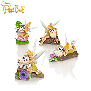 "Disney Tinker Bell ""Owl Always Love You"" Figurine Collection"