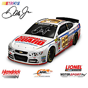 1:18-Scale Dale Jr. Ready To Race Car Sculpture Collection