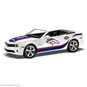 Broncos Super Bowl Champs Muscle Car Sculpture Collection