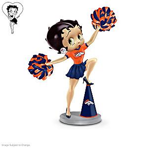 Betty Boop Denver Broncos Handbell Collection