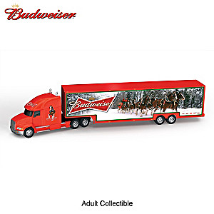1:64-Scale Budweiser Salute To The Seasons Hauler Collection