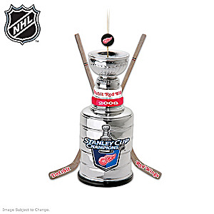 Detroit Red Wings® Stanley Cup® Ornament Collection