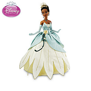 Princess Tiana Couture Fantasy Articulated Doll Collection