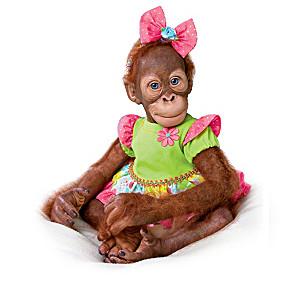 Simon Laurens Vinyl Orangutan Dolls