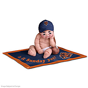 NFL Licensed Chicago Bears Baby Doll Collection
