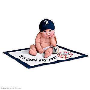 New York Yankees MLB Licensed Baby Doll Collection