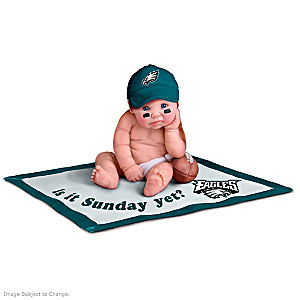 NFL Licensed Philadelphia Eagles Baby Doll Collection