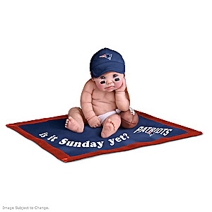 NFL Licensed New England Patriots Baby Doll Collection