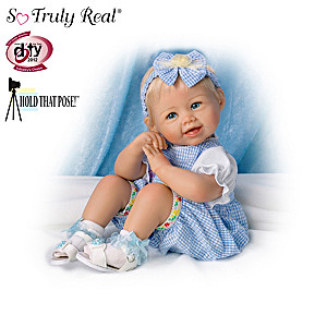 Let's Play! Poseable Baby Doll Collection By Bonnie Chyle