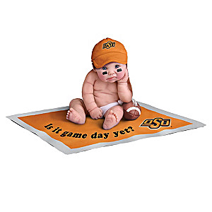 Oklahoma State Cowboys Fan Baby Doll Collection