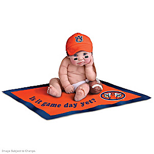 Auburn University Tigers Fan Baby Doll Collection