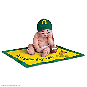 University Of Oregon Ducks Fan Baby Doll Collection